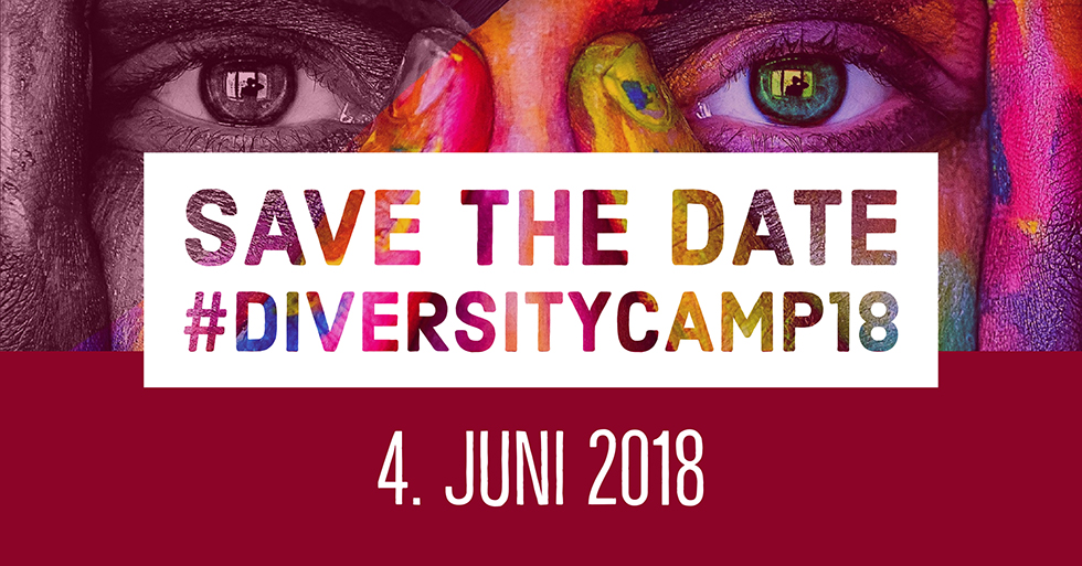 Save the Date #diversitycamp18